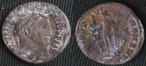 Bronze Rot on Ancient Coin