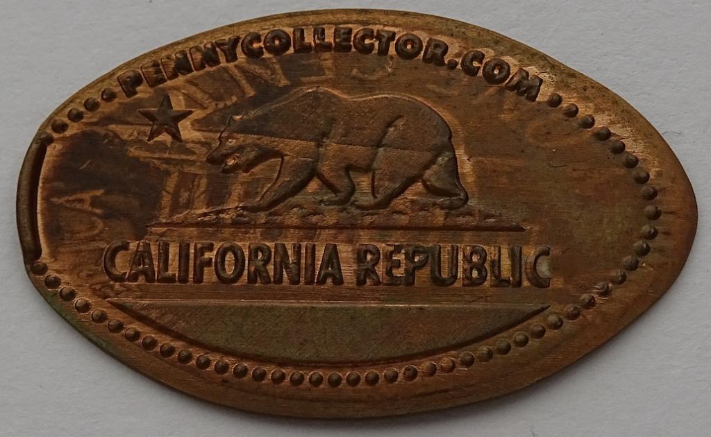 CA Republic Elongated Penny Copper
