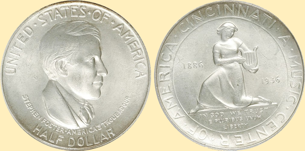 cincinnati half dollar commemorative
