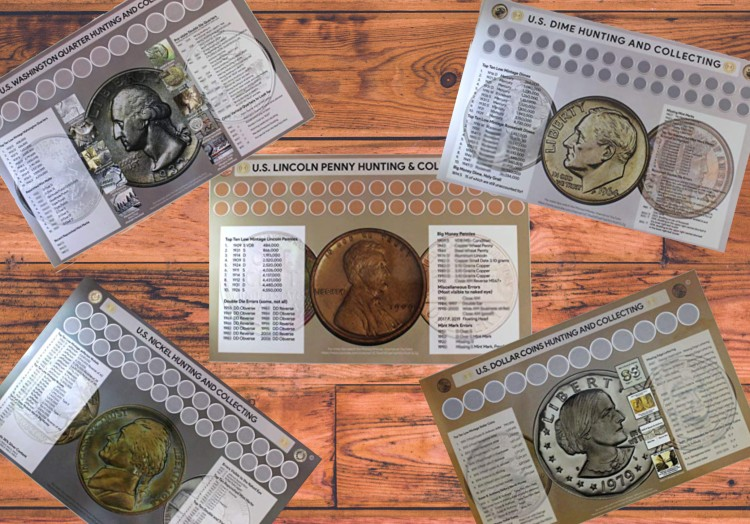 CRH Coin Roll Hunting Mats Collecting