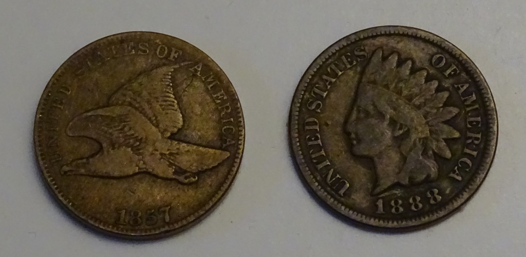 Flying Eagle and IHP obverse