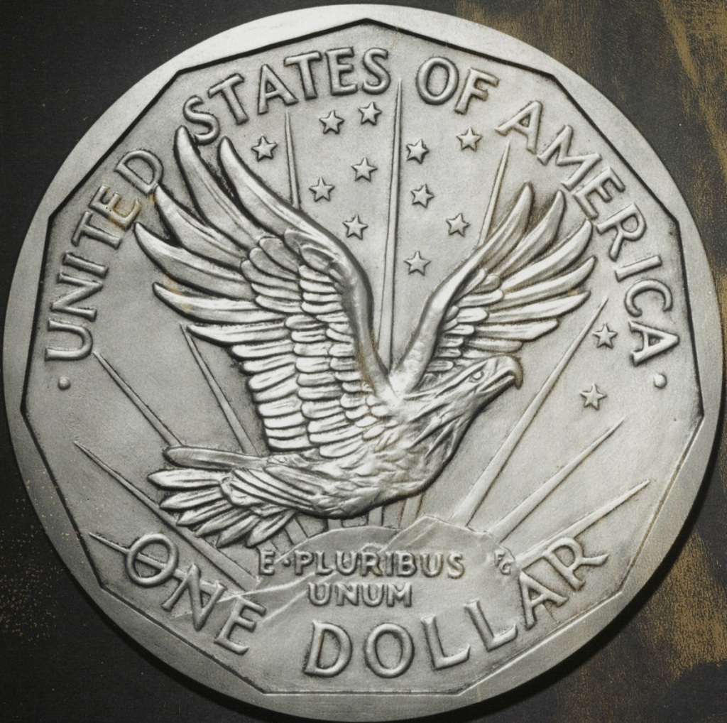 Small Dollar Coin Concept Obverse Frank Gasparro