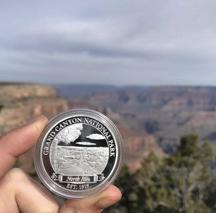 Grand Canyon National Park North Rim Token