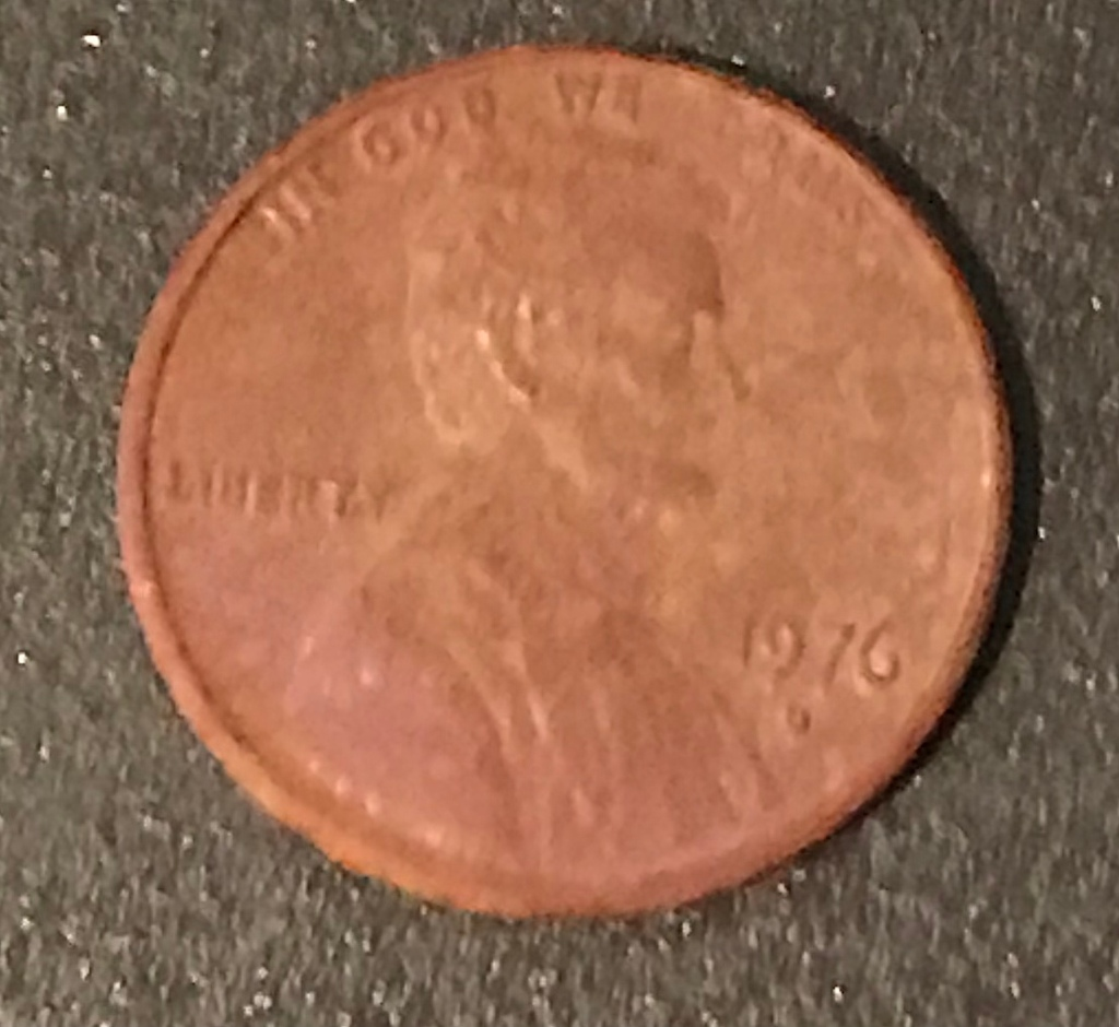 Penny After UltraSonic Cleaner