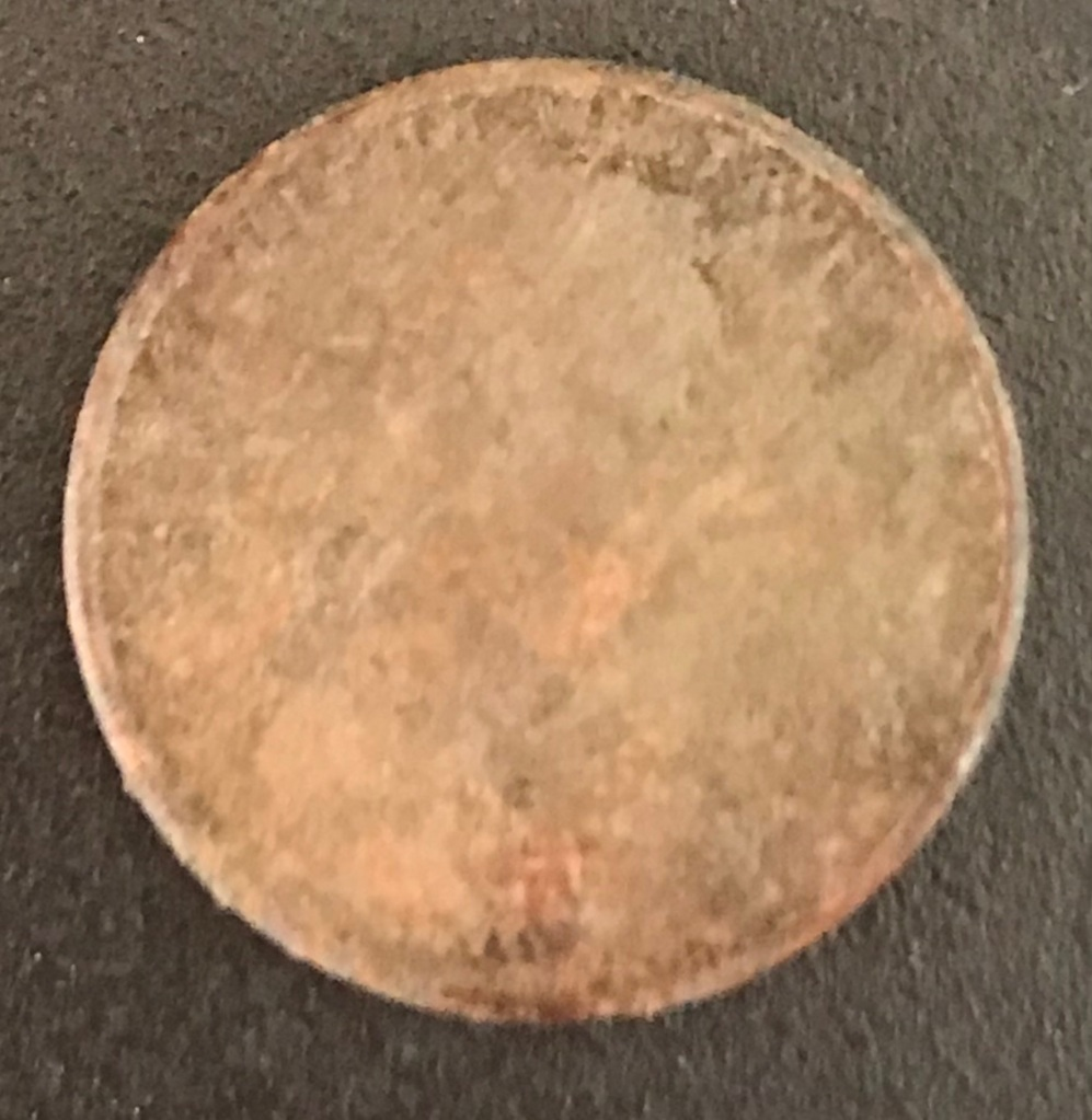 Penny Before UltraSonic Cleaning Coin