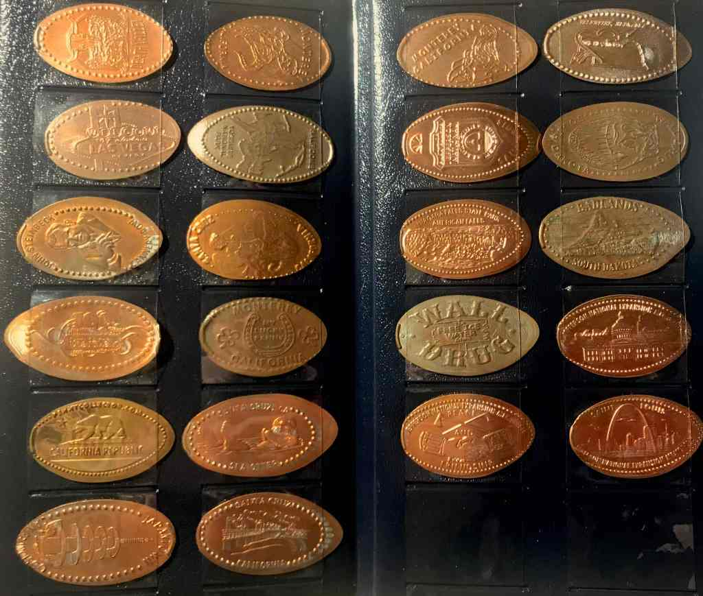 Elongated Smashed Pressed Penny Booklet