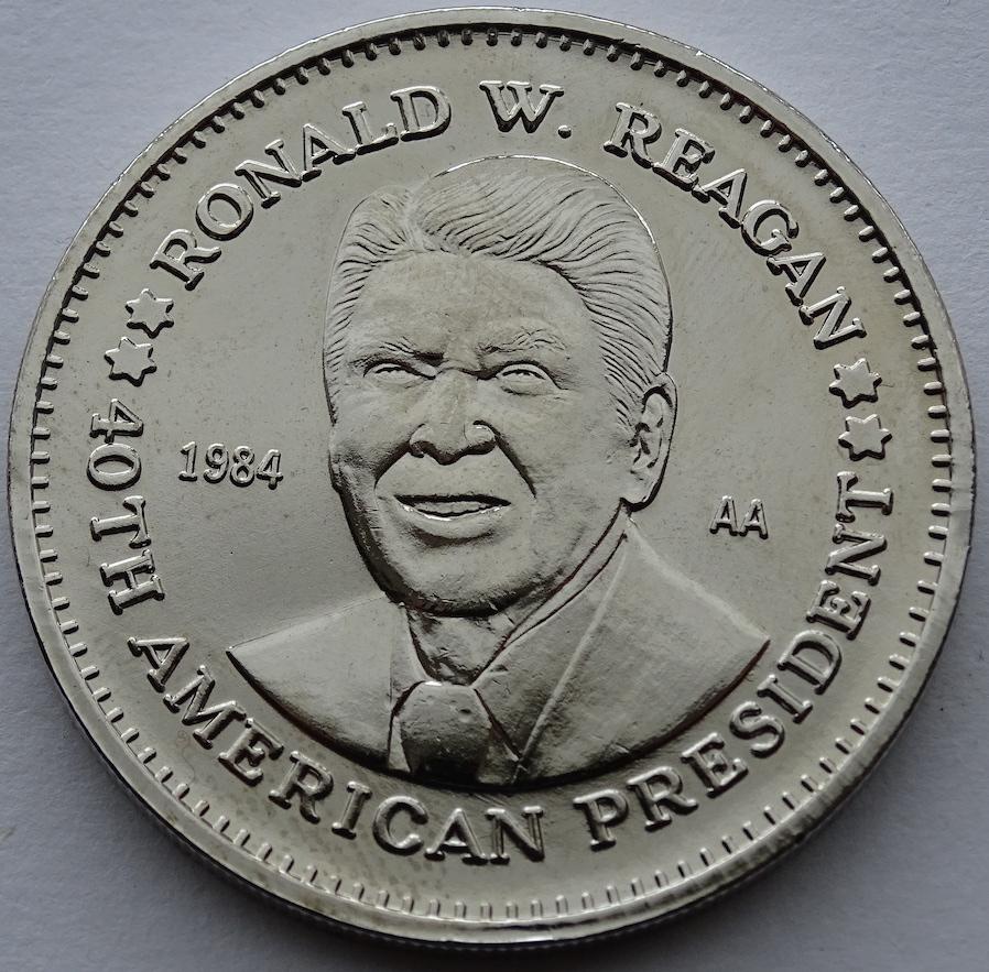 Ronald Reagan Obverse