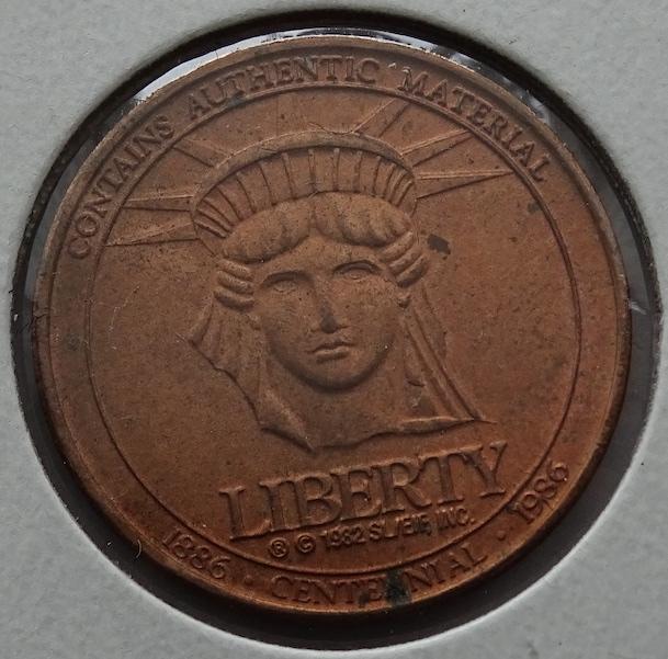 Statue of Liberty Macy's Token