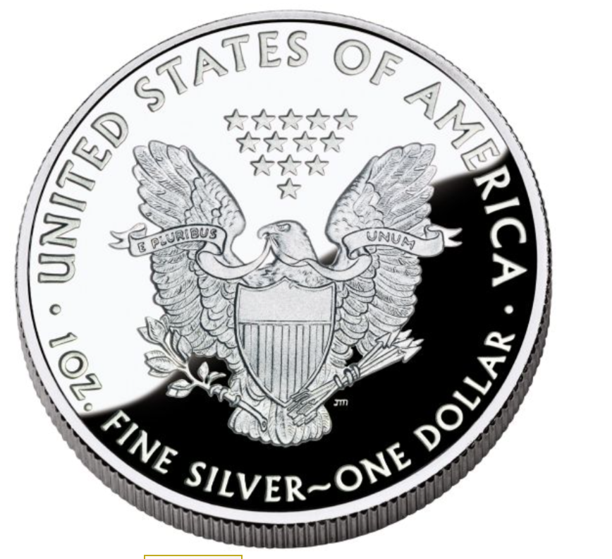 American Silver Eagle ASE Proof 2020 Reverse