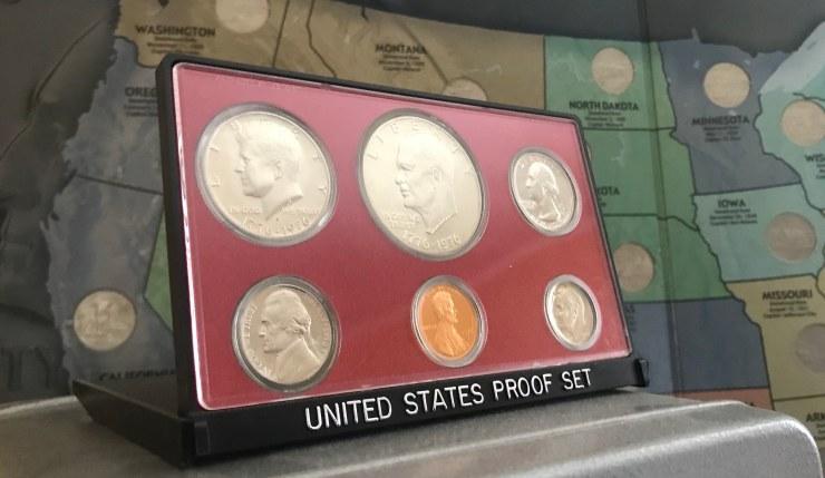 Display Proof Set 1976 Bicentennial