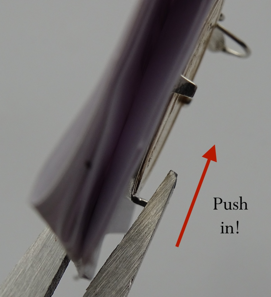 Push in Tabs Bezel How To