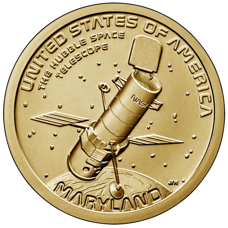 American Innovation MAryland Coin Hubble Telescope