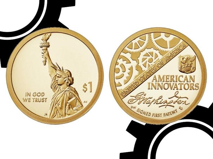Header American Innovation Dollar Coins Gears