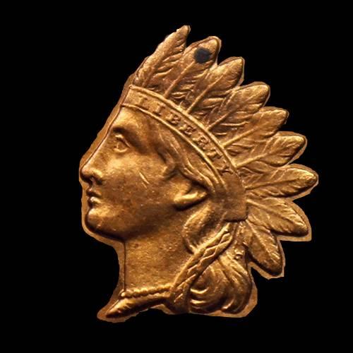 IHP Indian Head Penny Cutout Liberty